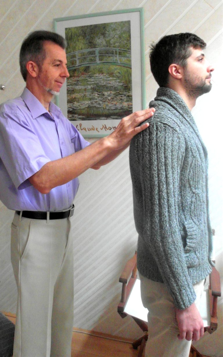 Cabinet ostéopathie test postural